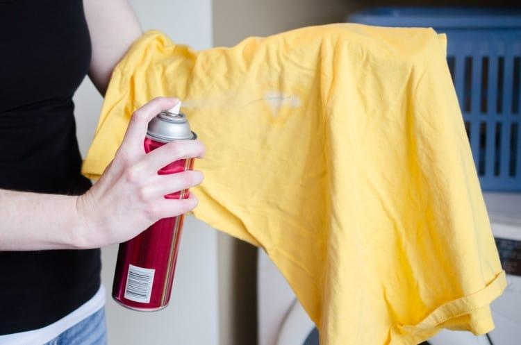 Como quitar manchas de tinte de la ropa