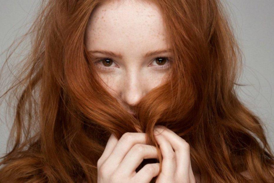 tono naranja en el cabello 2